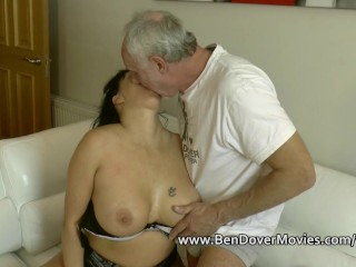 English MILF Comedy In The Sky Ben Dovers Cock